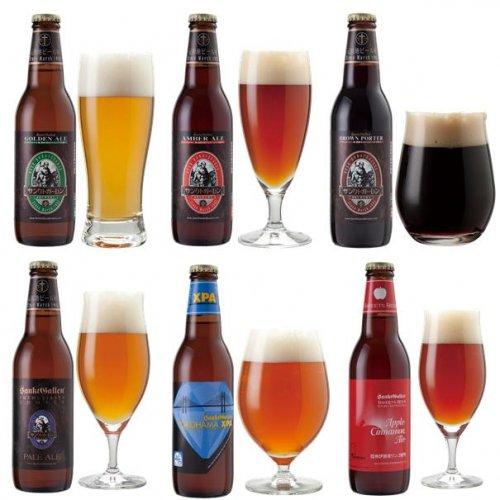 クラフトビール6種6本飲み比べセット