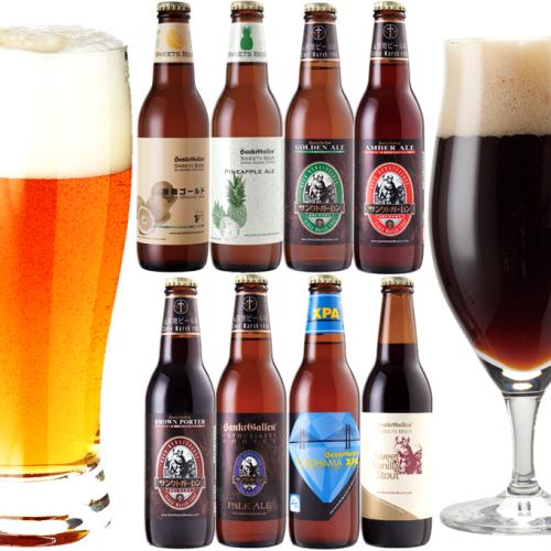 【<夏限定フルーツビール2種入>クラフトビール8種8本飲み比べセット】すぐ飲めるクール送料込