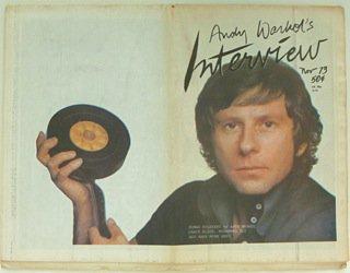 Interview magazine November 1973