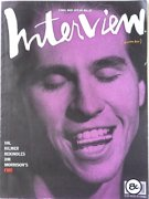 Andy Warhol's Interview magazine November 1990