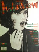 Andy Warhol's Interview magazine December 1990
