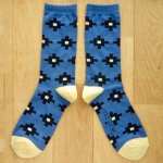 <img class='new_mark_img1' src='https://img.shop-pro.jp/img/new/icons13.gif' style='border:none;display:inline;margin:0px;padding:0px;width:auto;' />MONDE THE SOCKS ソックス・DAN/ブルー