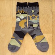<img class='new_mark_img1' src='https://img.shop-pro.jp/img/new/icons57.gif' style='border:none;display:inline;margin:0px;padding:0px;width:auto;' />MONDE THE SOCKS・サーカス/グレー