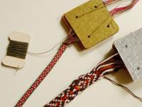 サルビア17号のバンド織りカード12枚セット