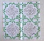 旅するハンカチーフ in Spain/mosaic・グリーン