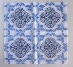 旅するハンカチーフ Vol.2 in Spain/mosaic・ブルー