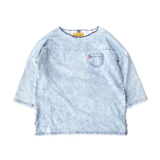 FOOTBALL DENIM SWEAT