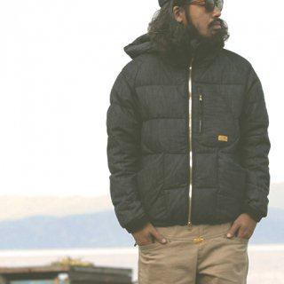 IGLOO DOWN JACKET DENIM X NANGA