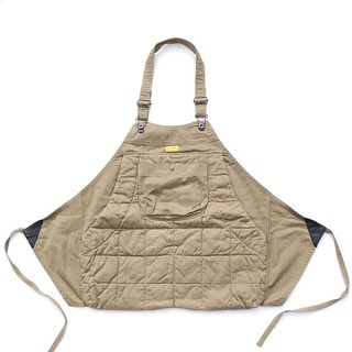 HOLTER APRON QUILTED HERRINGBONE