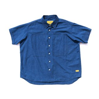 NILE WIDE SHIRTS INDIGO