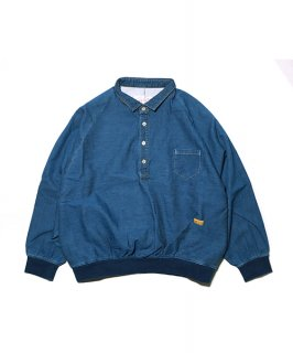 DENIM SWEAT POLO B.I.G