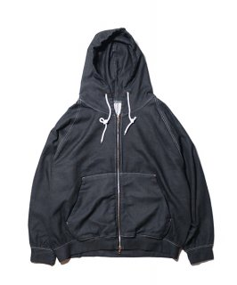 DENIM SWEAT PARKA B.I.G
