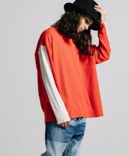 HEMP LONG SLEEVE TEE WIDE