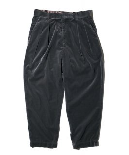 【予約商品】ZOOTIE WIDE PANTS VELVET