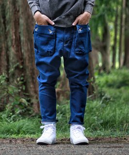 G55 Sarouel Flap Denim Pants -AUTHENTIC-