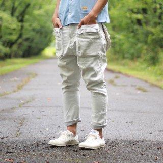 G55 Sarouel Flap Denim  Pants  -CARIB-