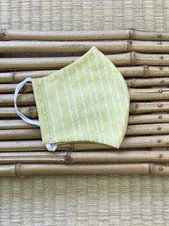 立秋のエチケットマスク【黄色 長雨】