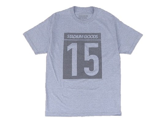 """STADIUM GOODS"" BLITZ TEE (GREY)"