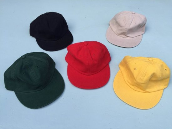 TWILL COTTON 6PANEL CAP