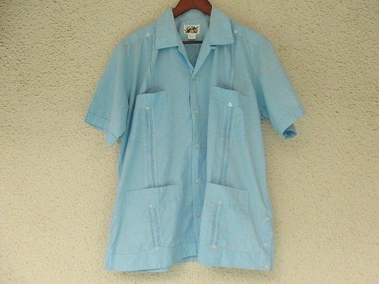 GUAYABERA (LIGHT BLUE) Size 40 - 17