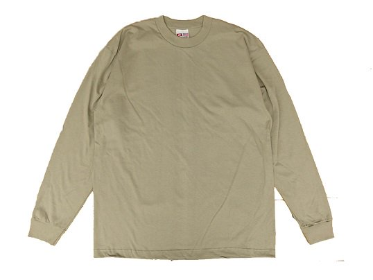 """""""BAY SIDE"""" L/S HEAVY WEIGHT Tee (ALPHA GREEN)"""