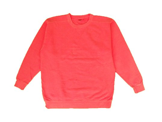 """""""COMFORT COLORS"""" GARMENT DYED CREW NECK SWEAT (CORAL)"""