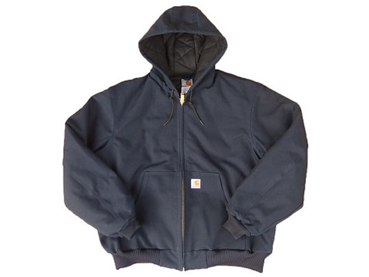 """Carhartt"" QUILTED ACTIVE JACKET (NAVY)"