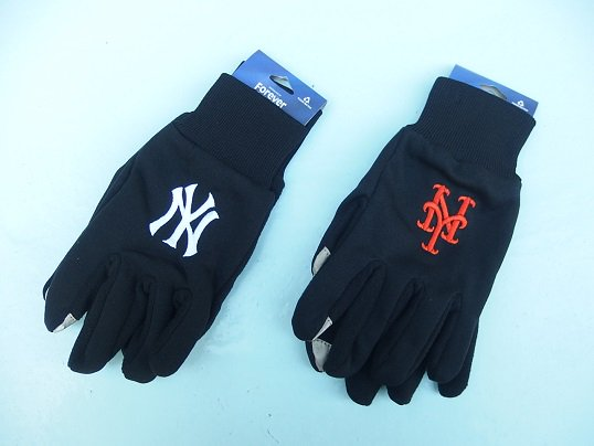 MLB OFFICIAL TOUCH GLOVE (BLACK)