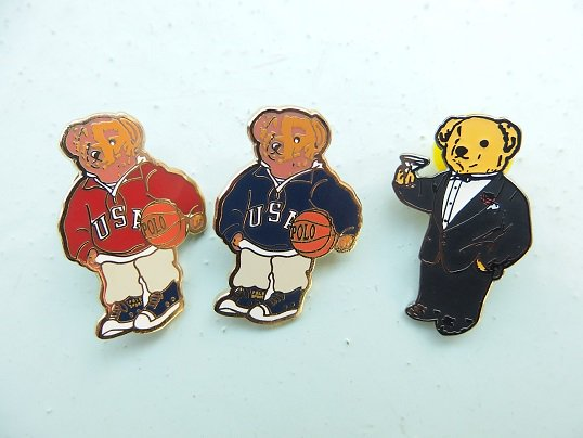 """RL JEWELRY"" PINS (BEAR)"