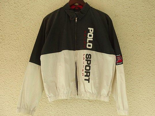 """""""POLO SPORT"""" SWING TOP (BLACK × WHITE) - Size L"""