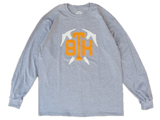 """STABRIDGE"" 8th ANIV. L/S TEE (GREY)"