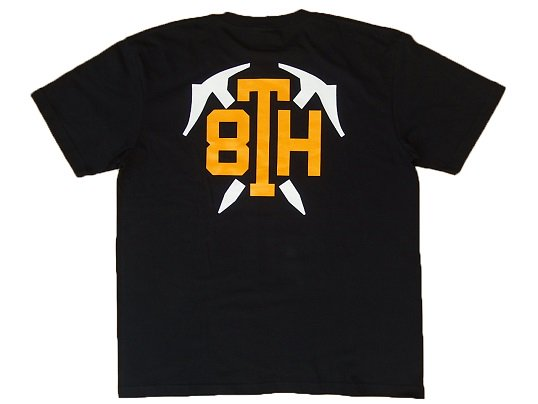 """STABRIDGE"" 8th ANIV. TEE (BLACK)"