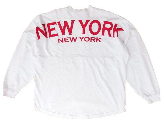 NEW YORK FOOTBALL JERSEY (WHITE)