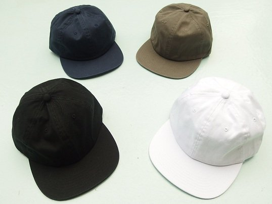 COTTON 6PANEL CAP