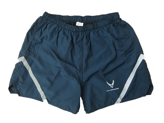 U.S.AIR FORCE PHYSICAL TRAINING SHORTS - DEAD STOCK (NAVY)