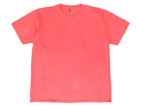 """COMFORT COLORS"" GARMENT DYED TEE (CORAL)"