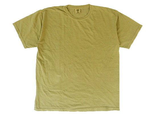 """COMFORT COLORS"" GARMENT DYED TEE (SAND)"
