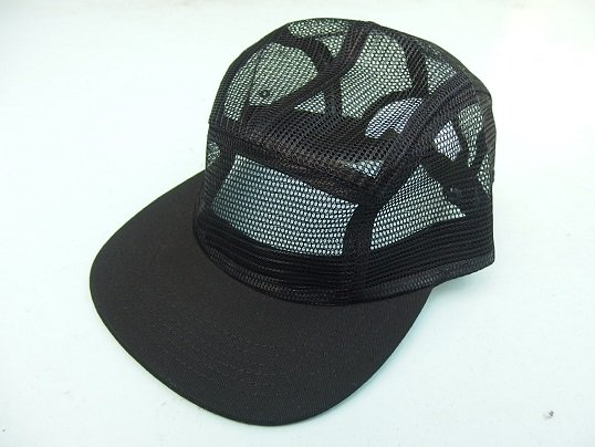 FULL MESH 5PANEL CAP (BLACK)