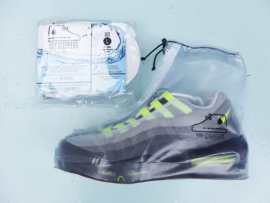 """DRY STEPPERS"" SNEAKER RAIN COVER"