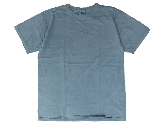 """COMFORT COLORS"" GARMENT DYED TEE (INDIGO BLUE)"