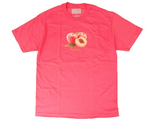 """THE DECADES"" PEACH TEE (CORAL) - the Apartment Exclusive"