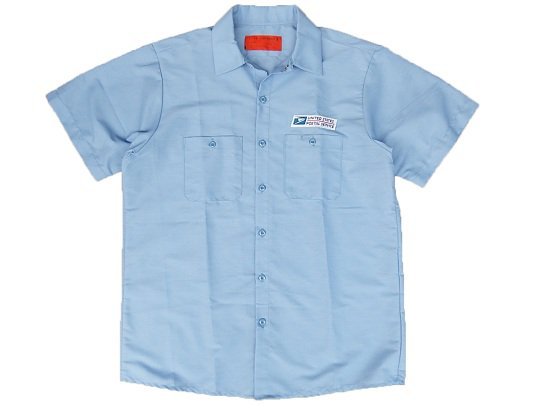 """USPS"" S/S WORK SHIRTS (LIG..."