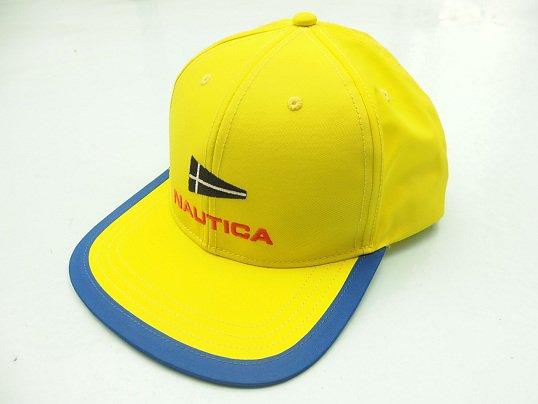 """NAUTICA"" SAILING FLAG CAP (YELLOW)"