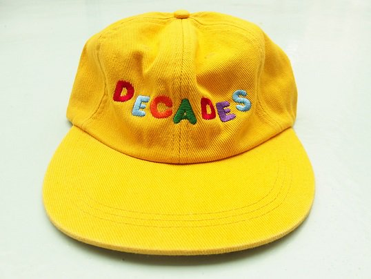 """THE DECADES"" ELEMENTARY 6 PANEL (YELLOW)"
