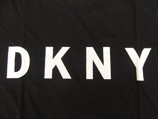 """""""DKNY"""" LOGO TEE (BLACK)"""