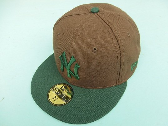 """NEW ERA"" FITTED CAP (NEWYORK YANKEES) - BEEF & BROCCOLI"