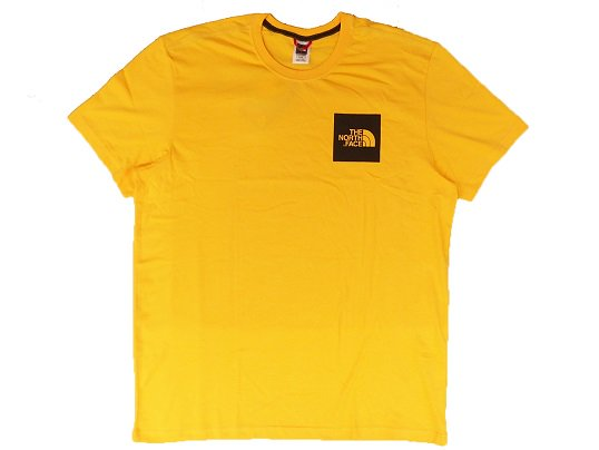 """THE NORTH FACE"" BOX LOGO TEE - 海外限定 (TNF YELLOW)"
