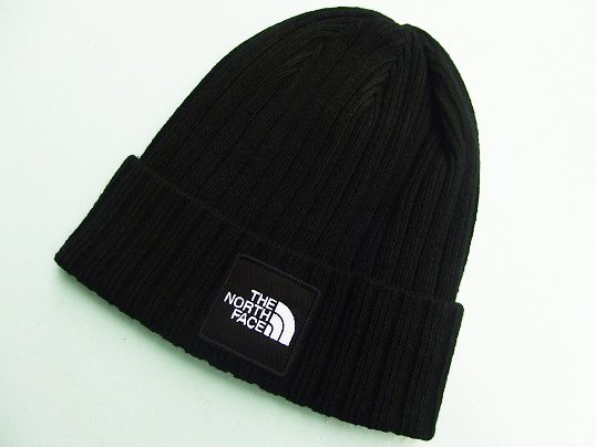 """THE NORTH FACE"" BOX LOGO BEANIE - 海外限定 (TNF BLACK)"