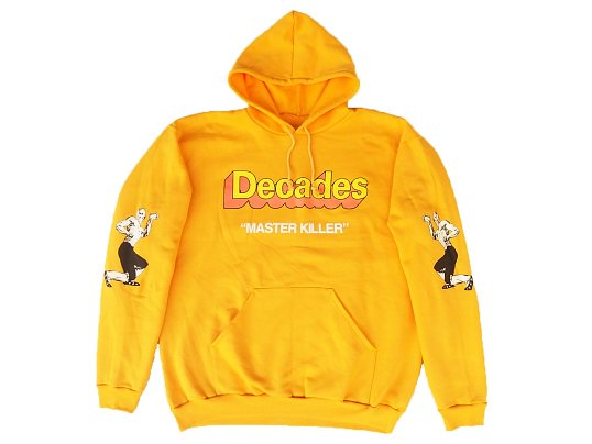 """THE DECADES"" MASTER KILLER PULLOVER (YELLOW) - the Apartment Exclusive"