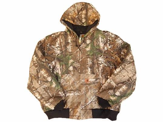 """Carhartt"" REAL TREE QUILTED ACTIVE JACKET"